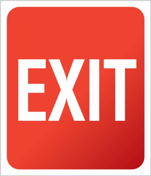 Exit Sign - Plexi