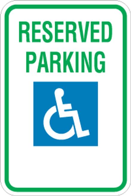 Federal Handicap Parking Sign