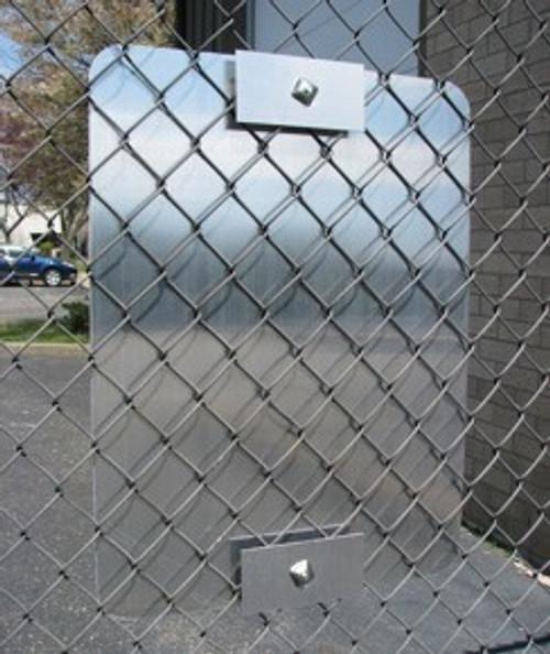 Sign Mounting Fence Bracket Set