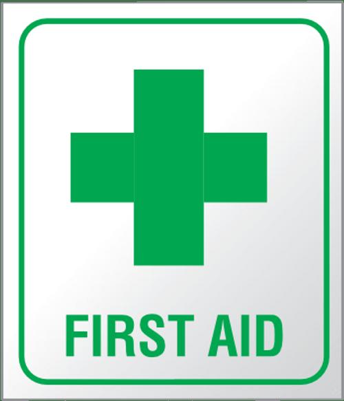 First aid - Plexi Sign