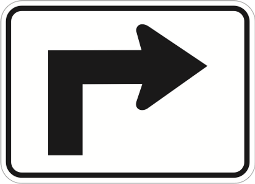 Guide Arrow - Up / Right