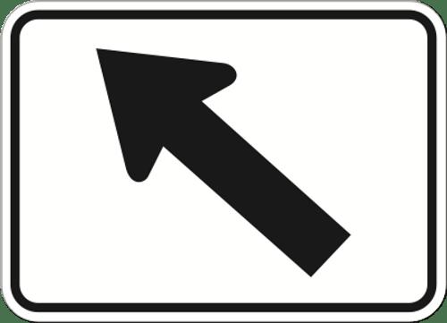 Guide Arrow Diagonal Left