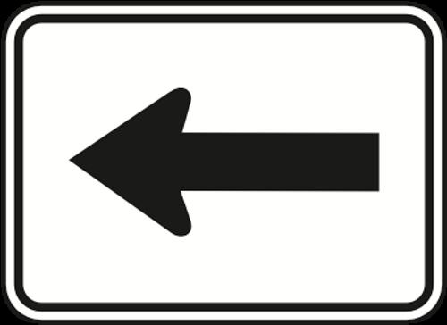 Guide Arrow Sign - Left