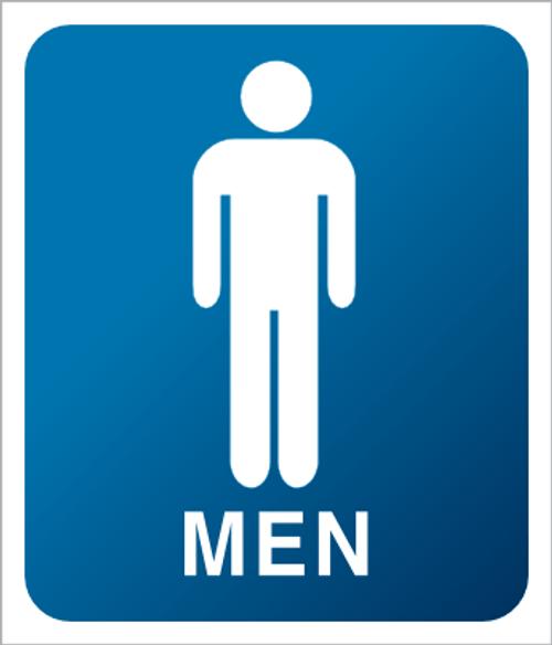 Men - Plexi Sign