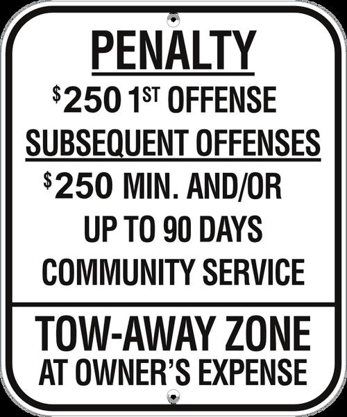 New Jersey Handicap Parking Sign