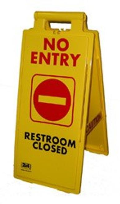 No Entry, Restroom Closed