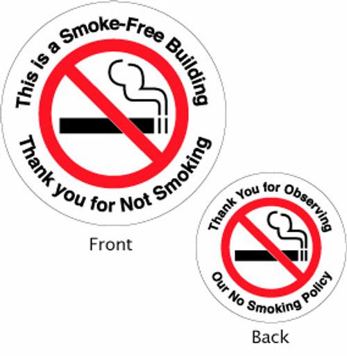 No Smoking - Double Faced
