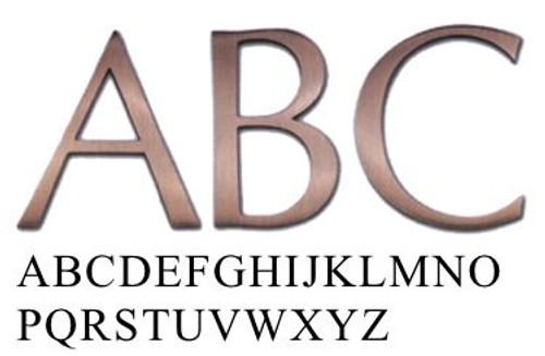 Optima Metal Letters