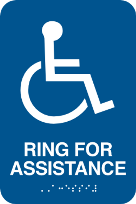 Ring For Assistance Sign