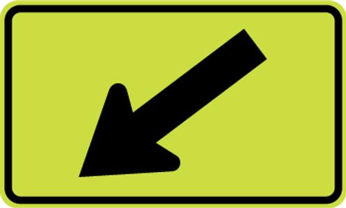 School Zone Arrow Sign