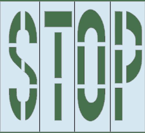 Stencil Set - Stop