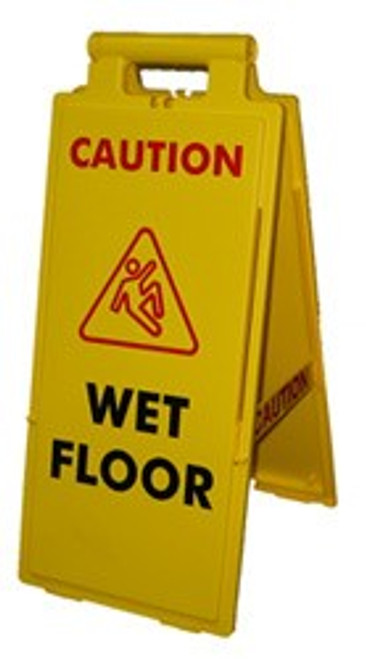Portable Wet Floor Sign Stand