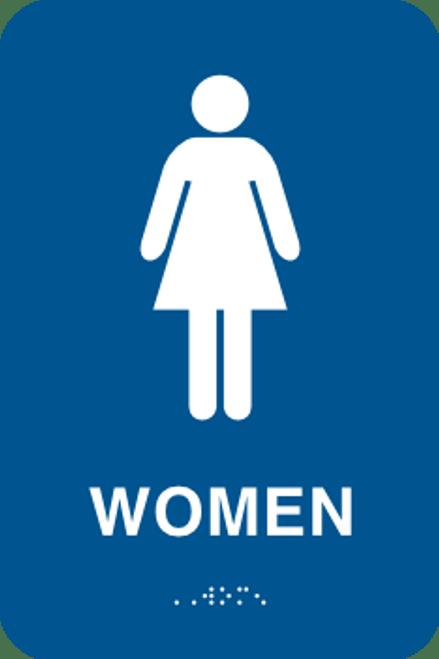 Women Braille Sign