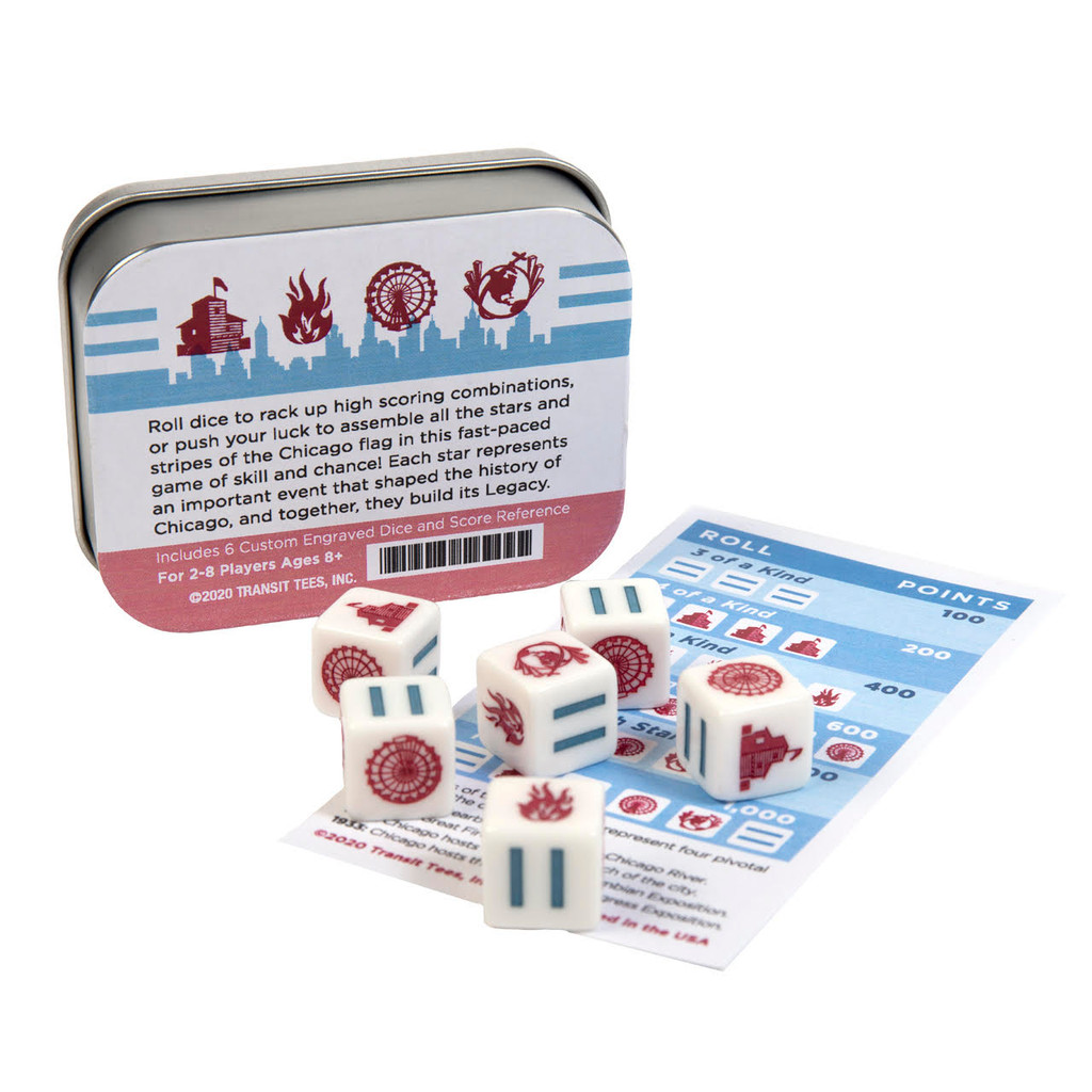Legacy: The Chicago Flag Dice Game