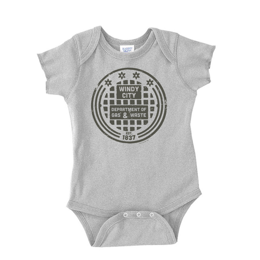 Gas and Waste Onesie - Infant