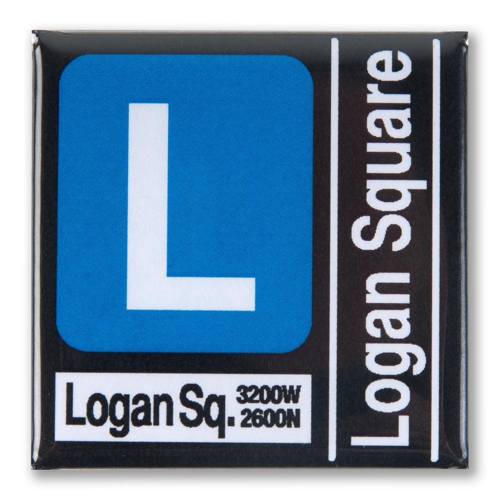 Blue Line Transit Magnet