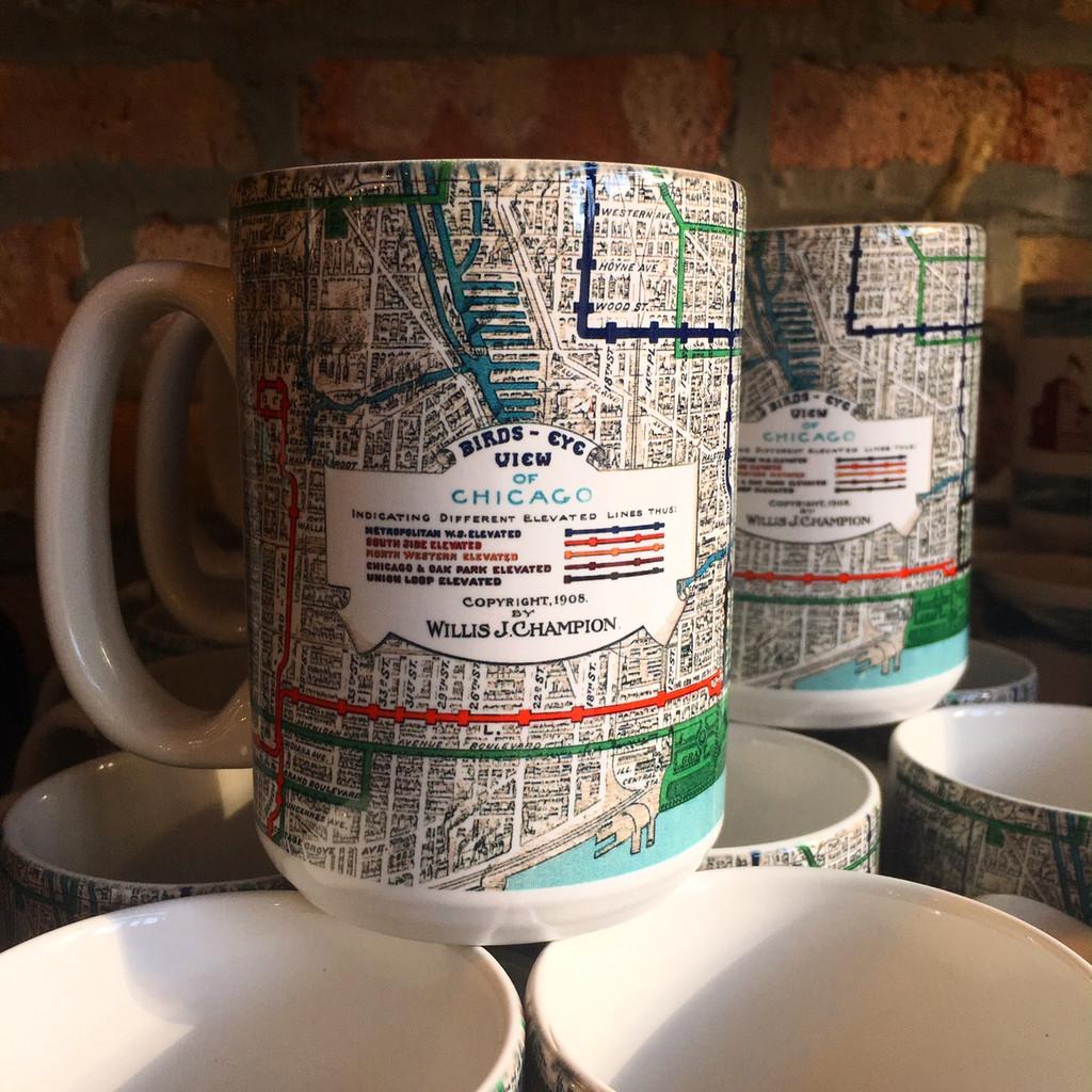 Elevated Railways Coffee Mug