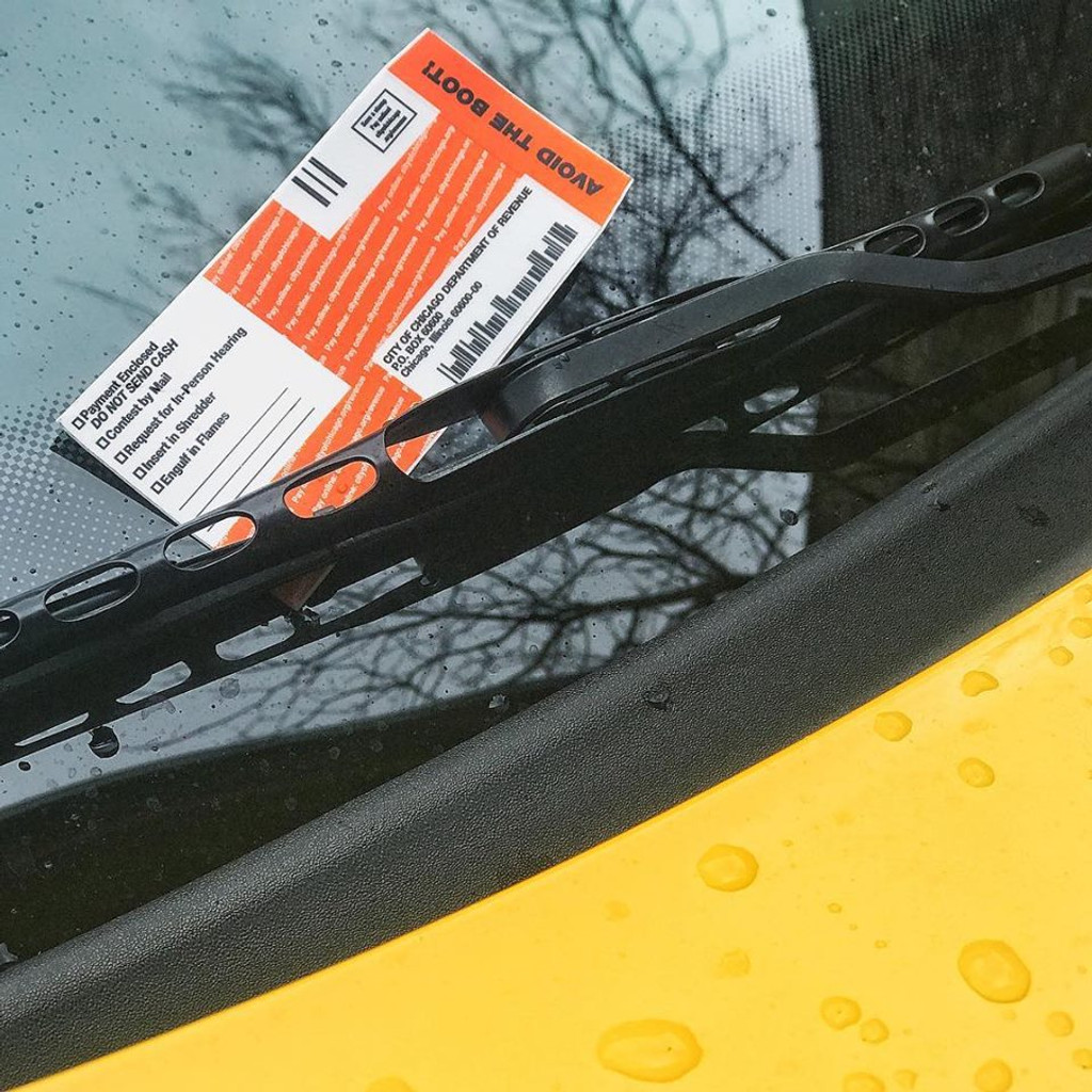 Parking Ticket Sticker