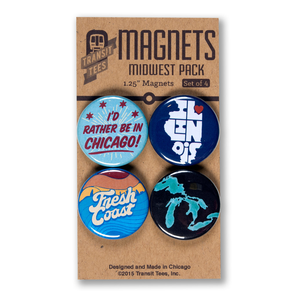 Midwest Round Magnet Pack