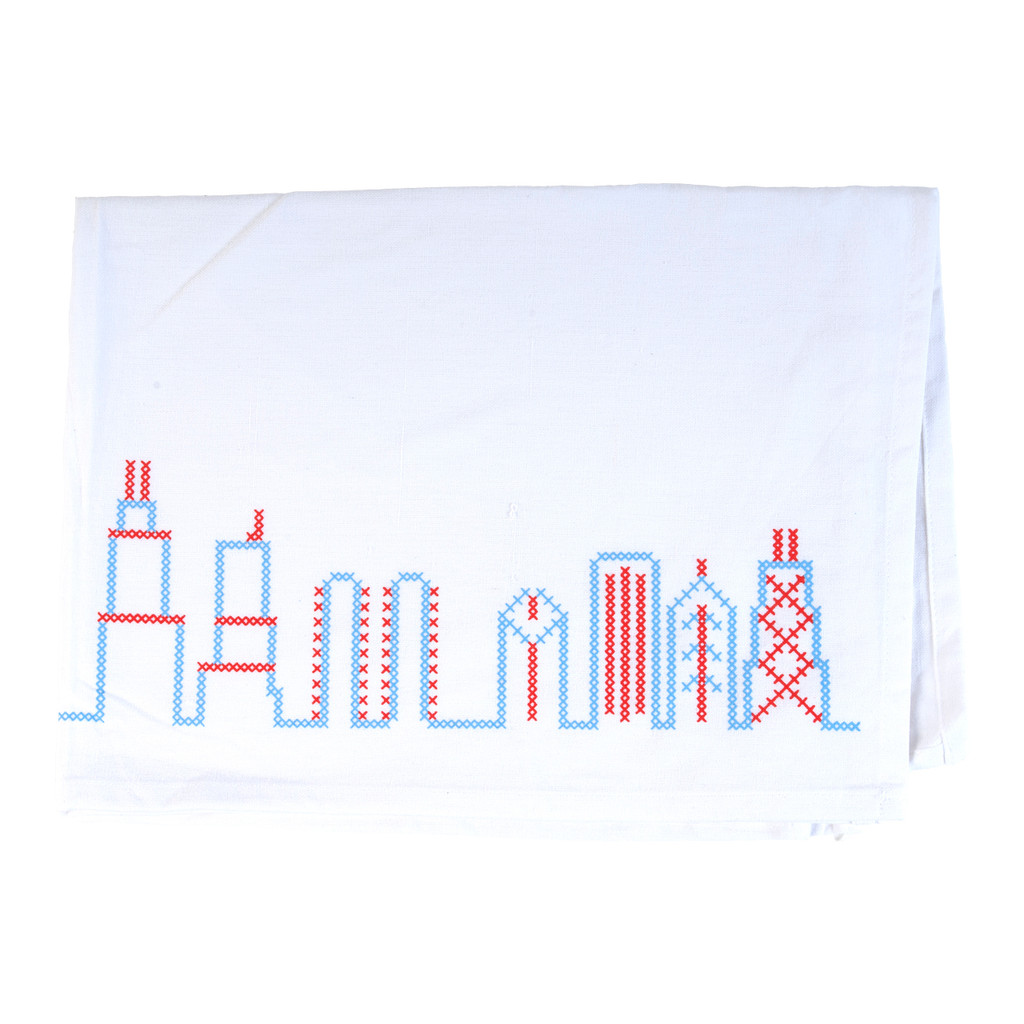 Chicago Skyline Flour Sack Towel