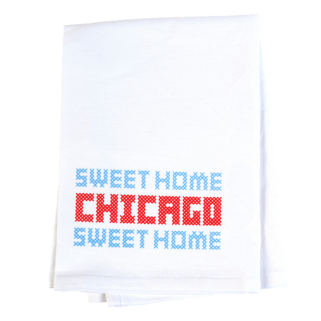 Sweet Home Chicago Flour Sack Towel