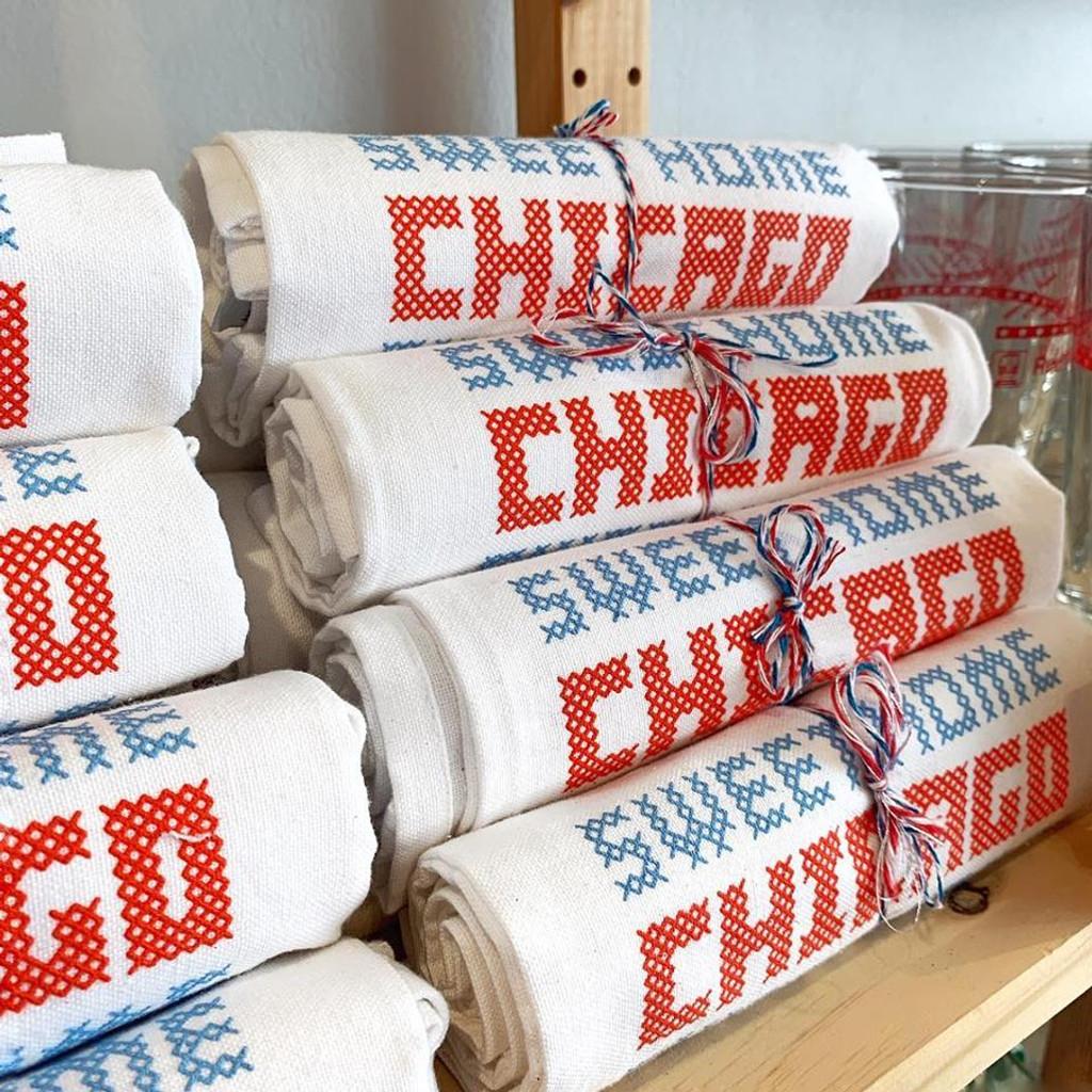 Sweet Home Chicago Flour Sack Towel