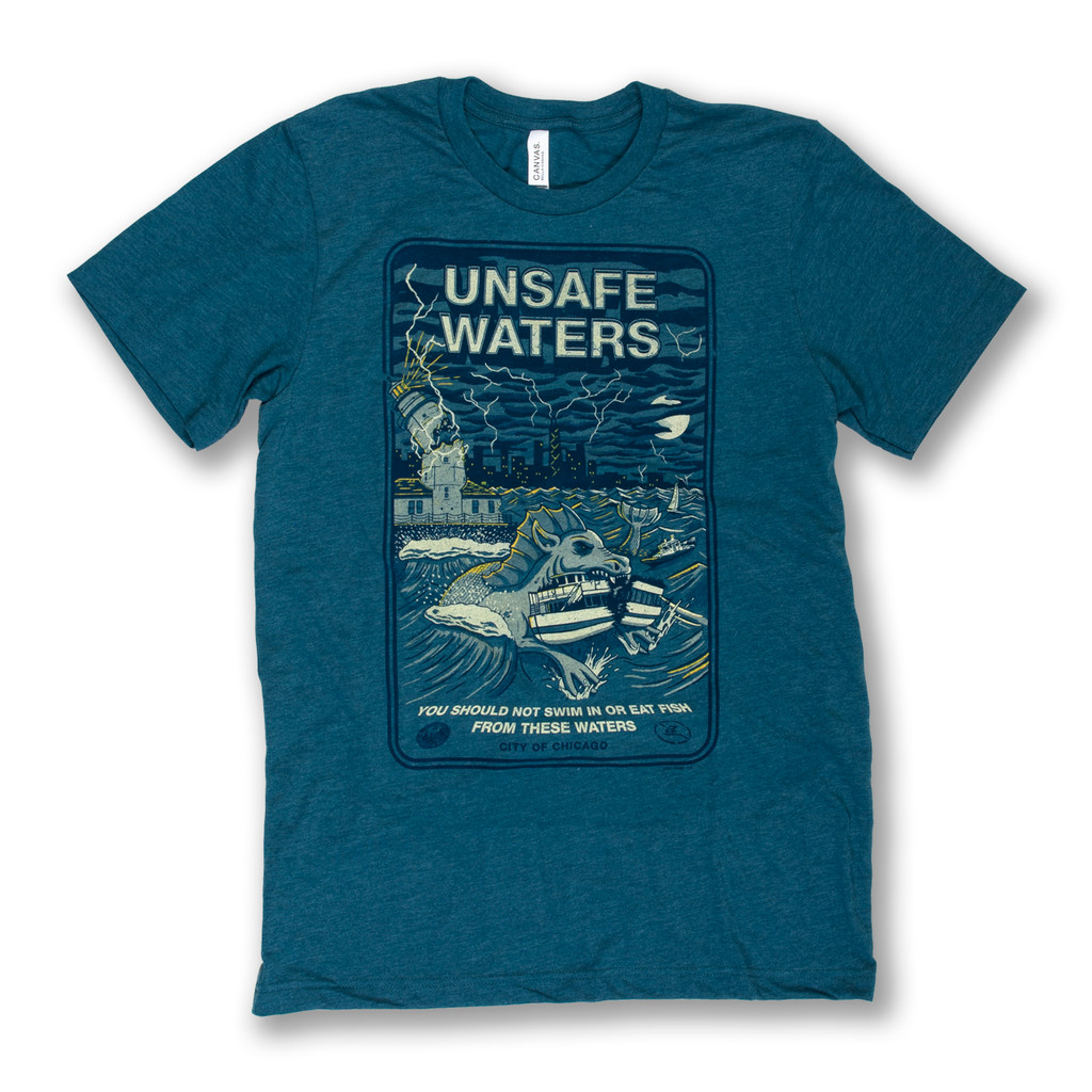 Unsafe Waters Tee - Men's