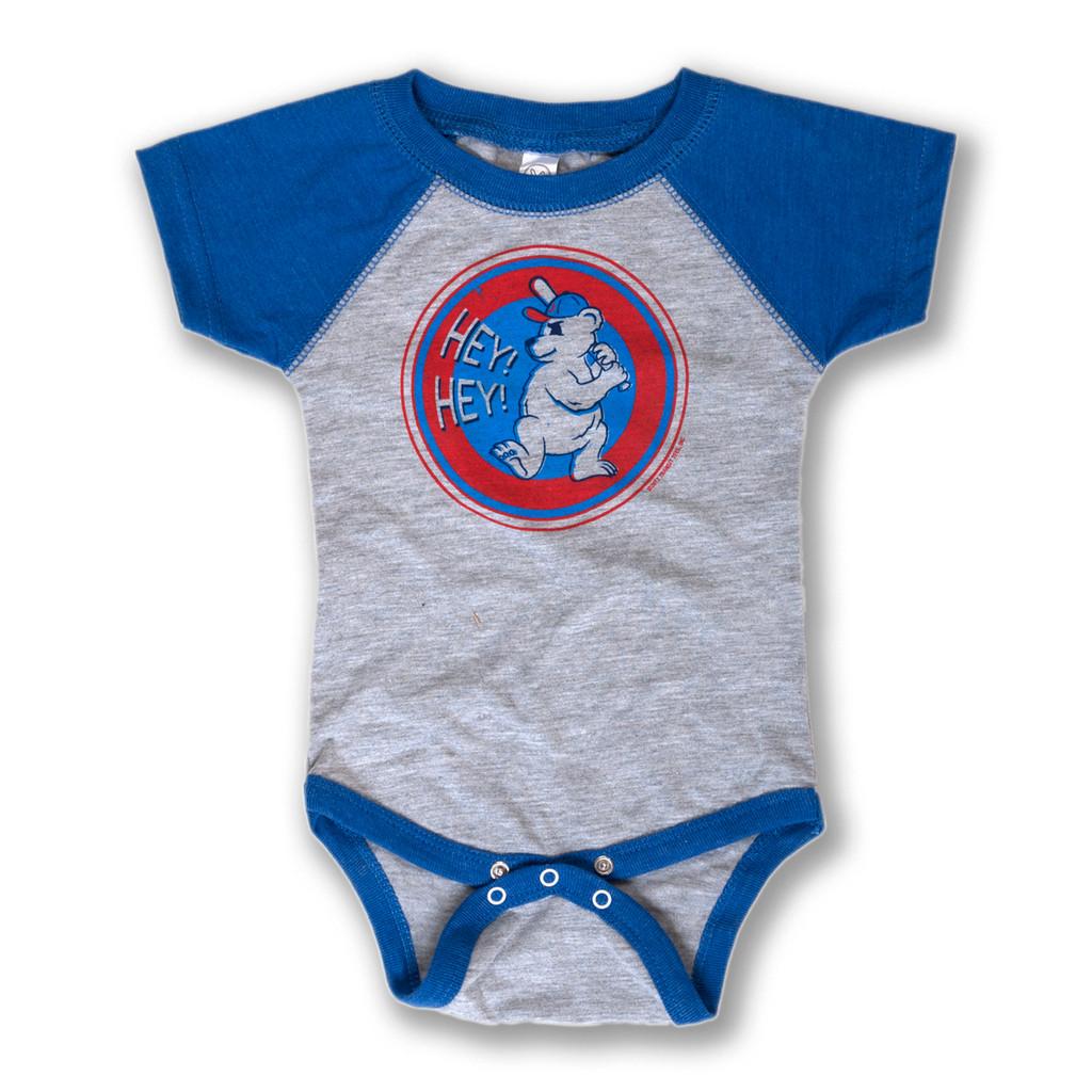 Hey Hey Baseball - Infant Onesie