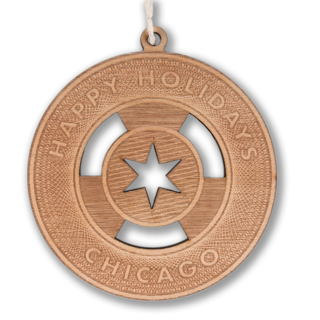 CTA Token Wood Ornament