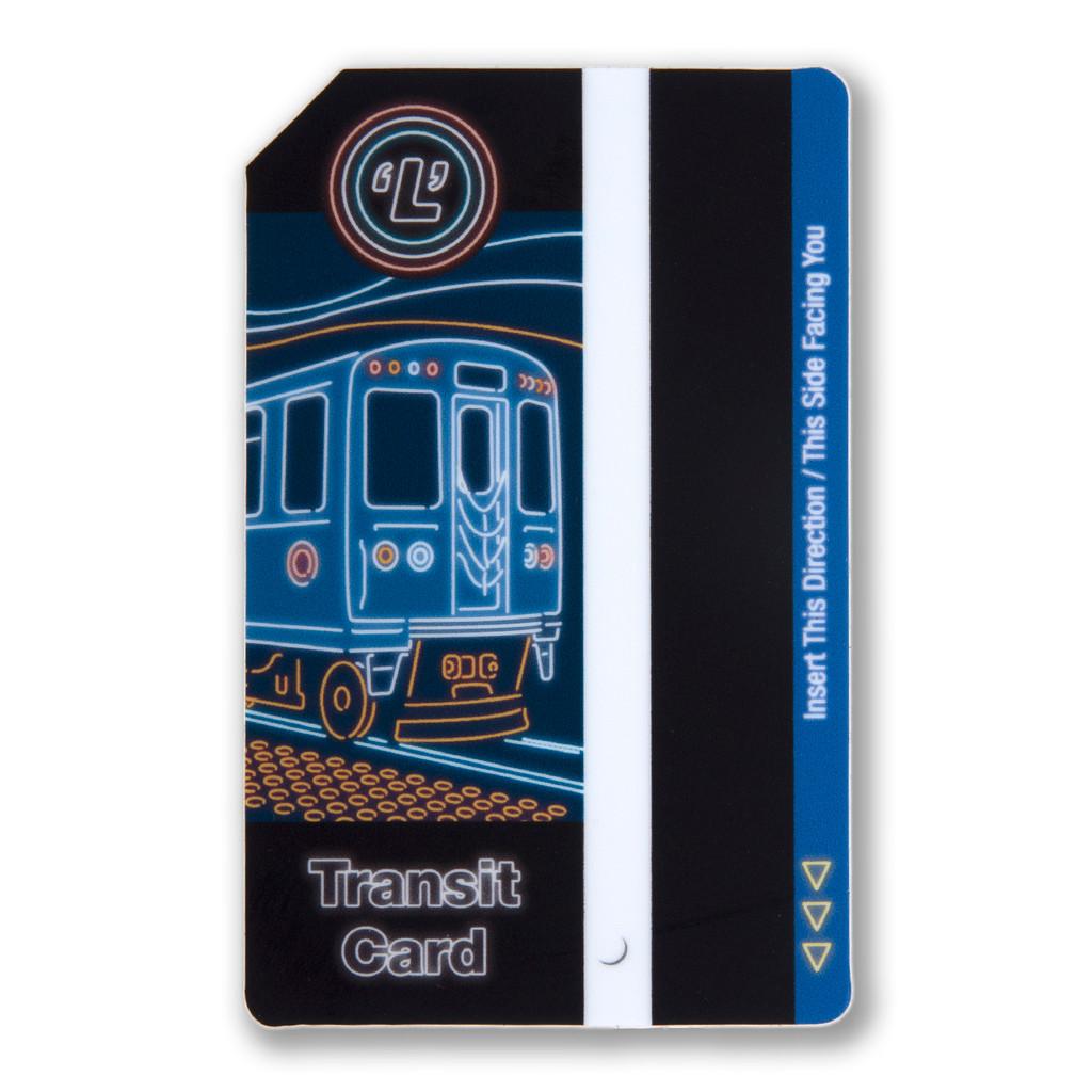 Transit Card Sticker