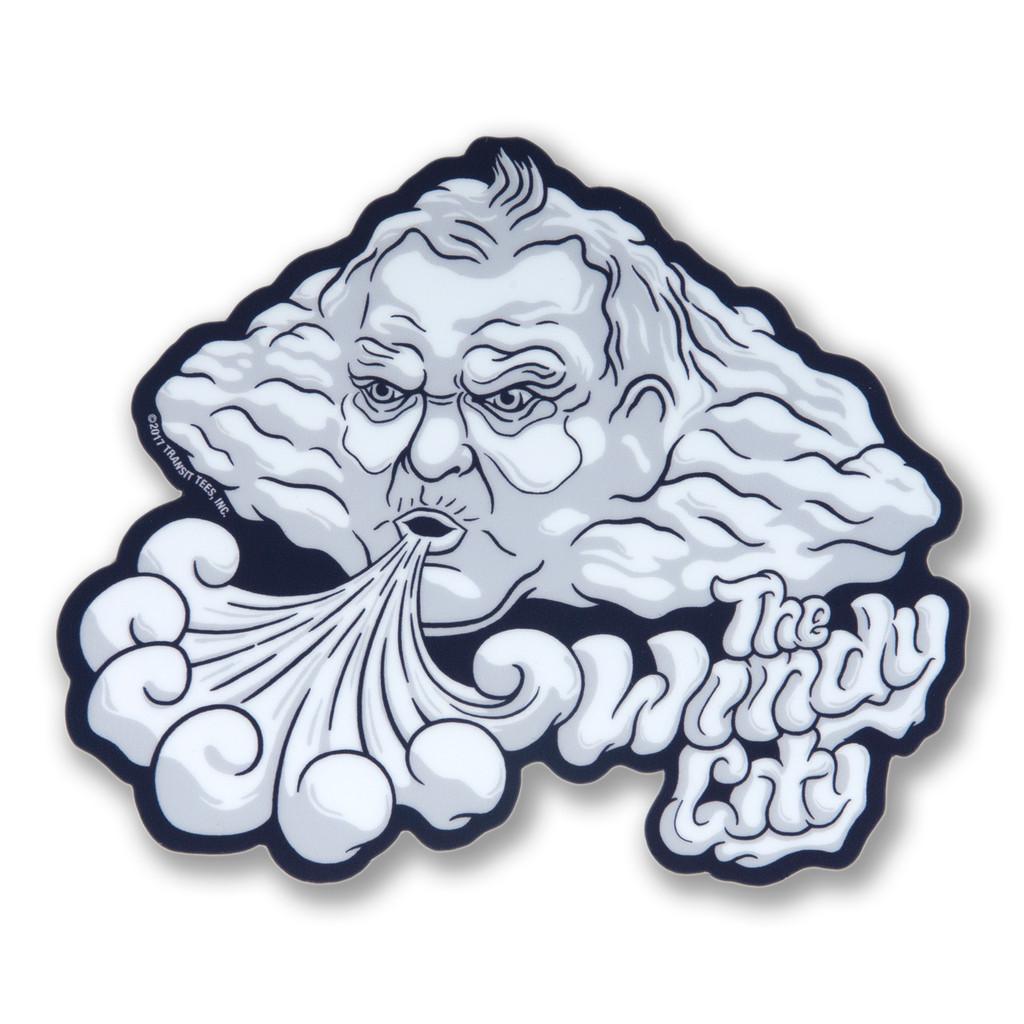 Windy City Sticker