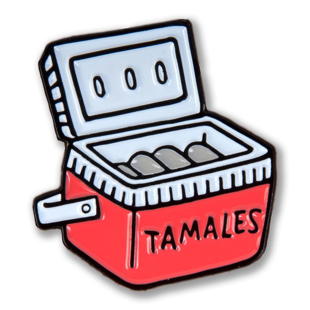 Tamale Cooler Enamel Pin