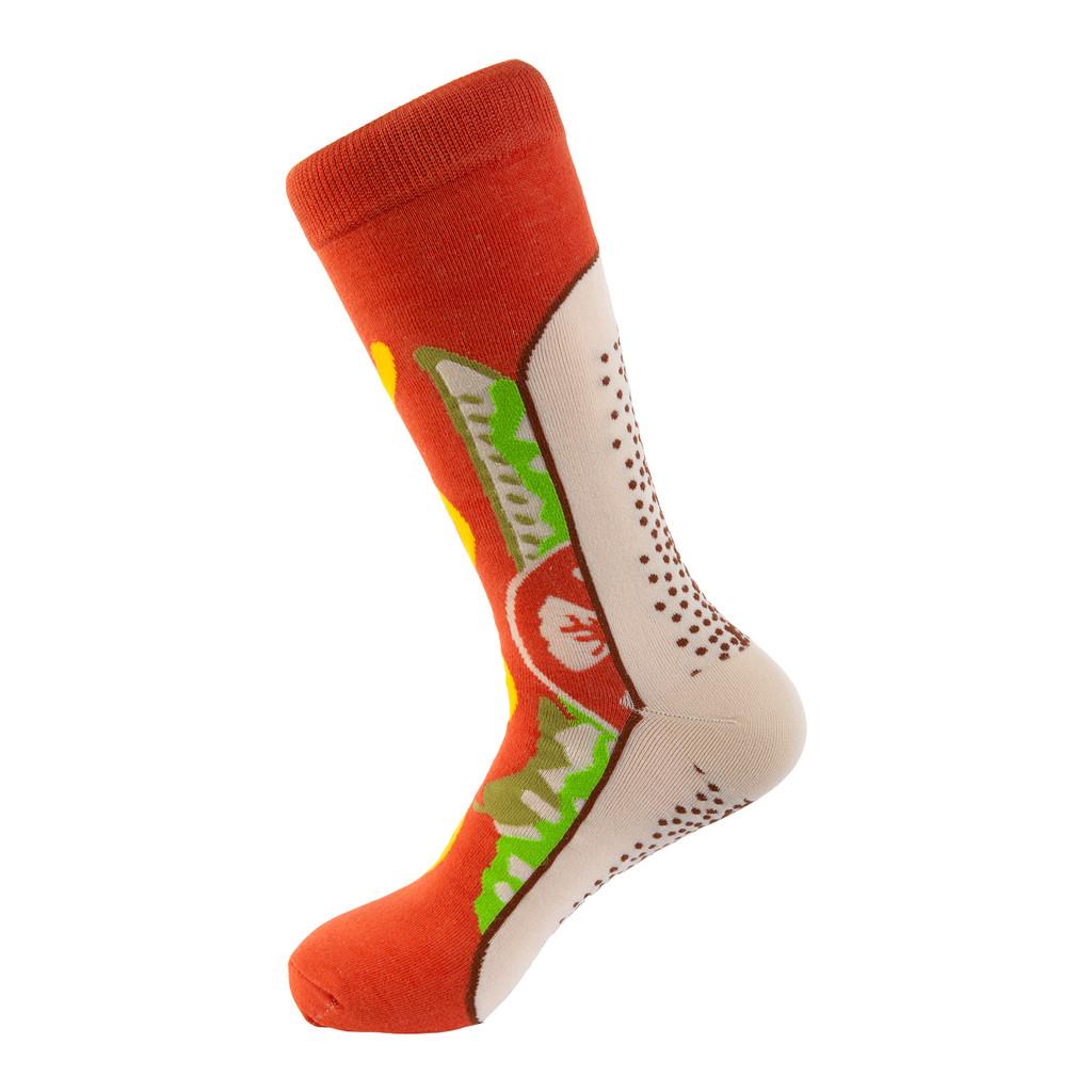 Chicago Style Hot Dog Socks