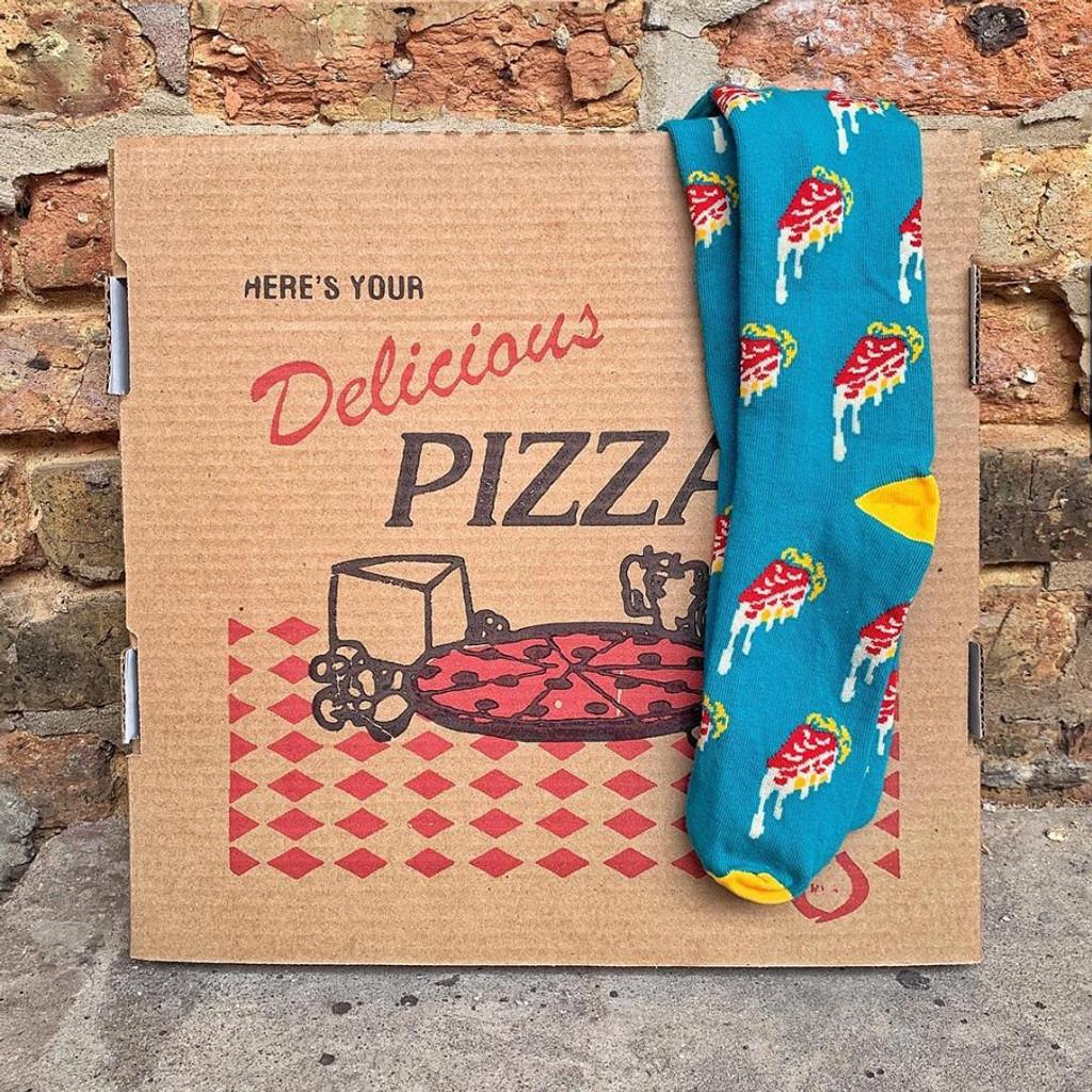 Chicago Deep Dish Pizza Socks