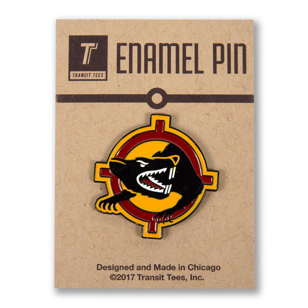 Target Rat Enamel Pin
