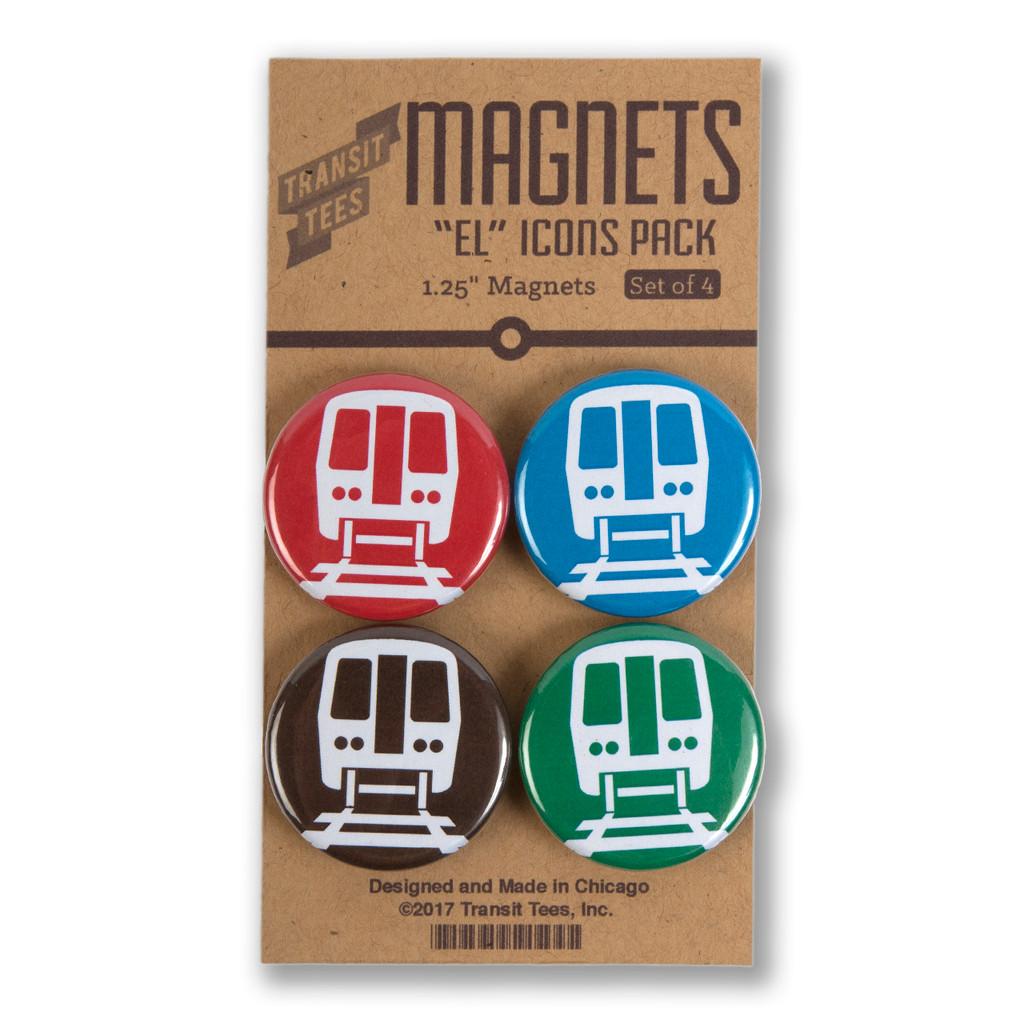 El Icons Round Magnet Pack