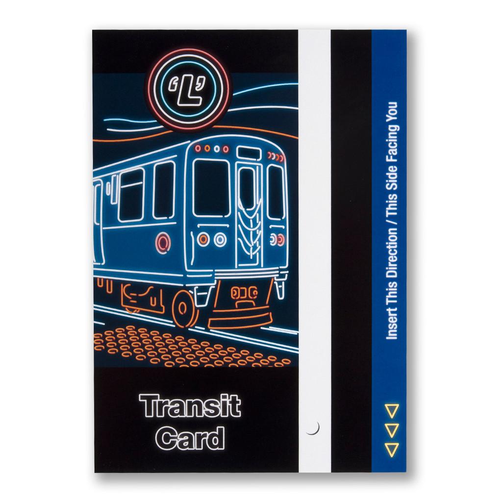 Transit Card Postcard