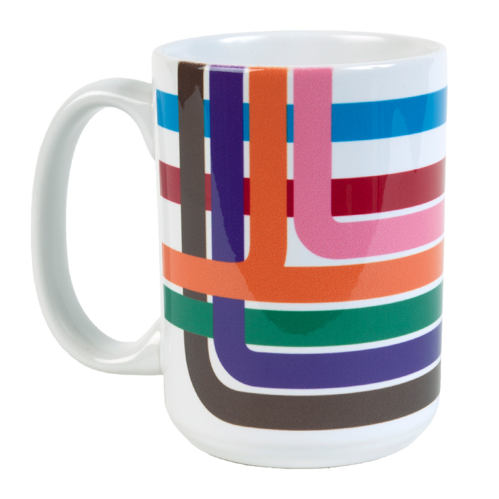 Loop Stripe Coffee Mug