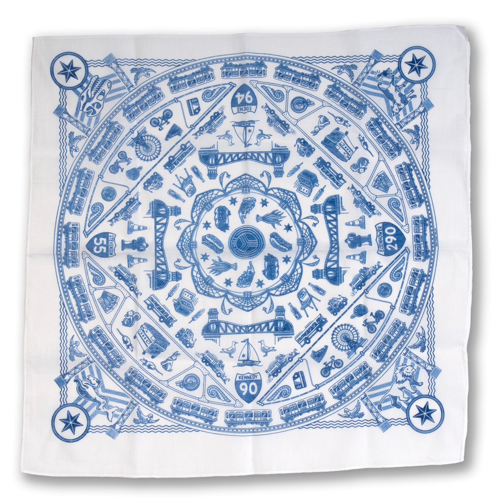 Chicago Icons Bandana