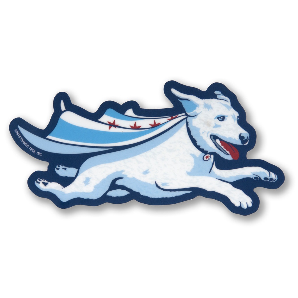 Super Dog Sticker