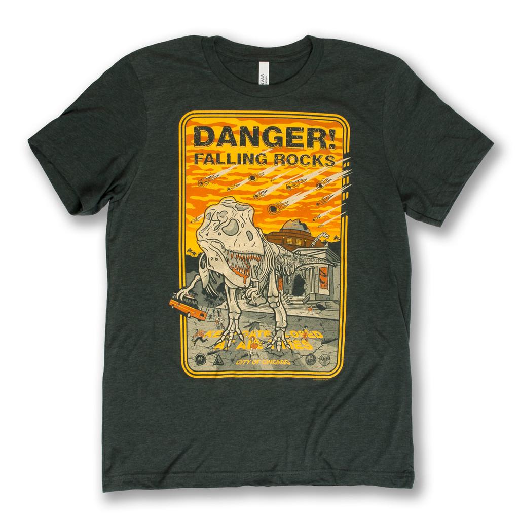 Danger! Falling Rocks - Unisex Tee Shirt