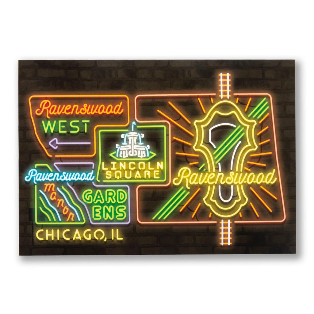 Ravenswood Neighborhood Postcard