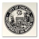 City Seal Screen Print Poster