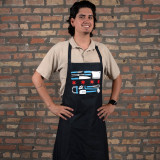 Chicago Chef Flag Apron