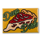 "Chicago Deep Dish 3"" x 2"" Magnet"