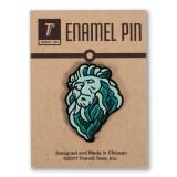 Institute Lion Enamel Pin