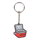 Tamale Cooler Enamel Keychain