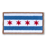 Chicago Flag Patch