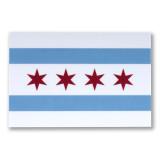 Chicago Flag Sticker