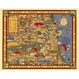 Chicago Gangland Map